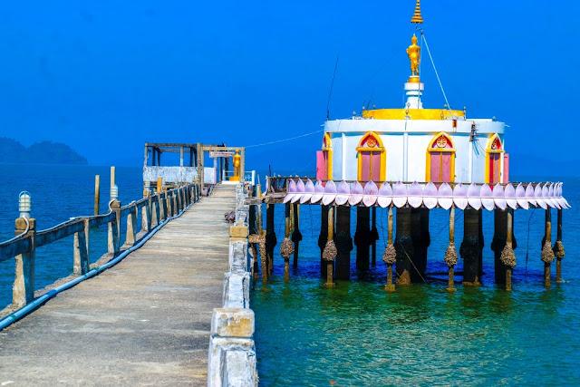sbobetJoz: เที่ยวเกาะพยาม Unseen โบสถ์กลางทะเล วัดเกาะพยาม