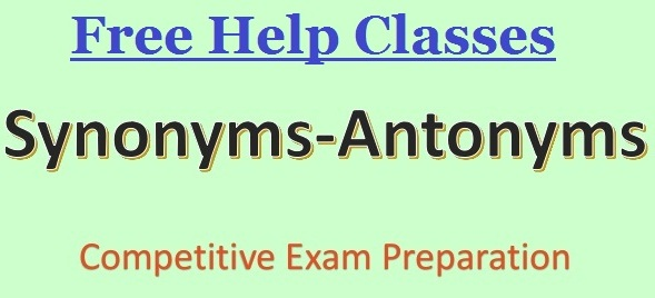 Important Synonyms For SSC CHSL CGL Railway And Banking Exam