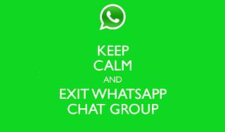 cara keluar dari group whatsapp tanpa notifikasi