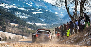 2019 Rally Monte Carlo SS 3 post