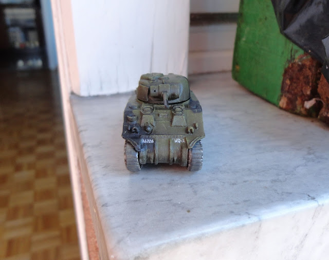Sherman 15mm FoW Bolt action Normandy