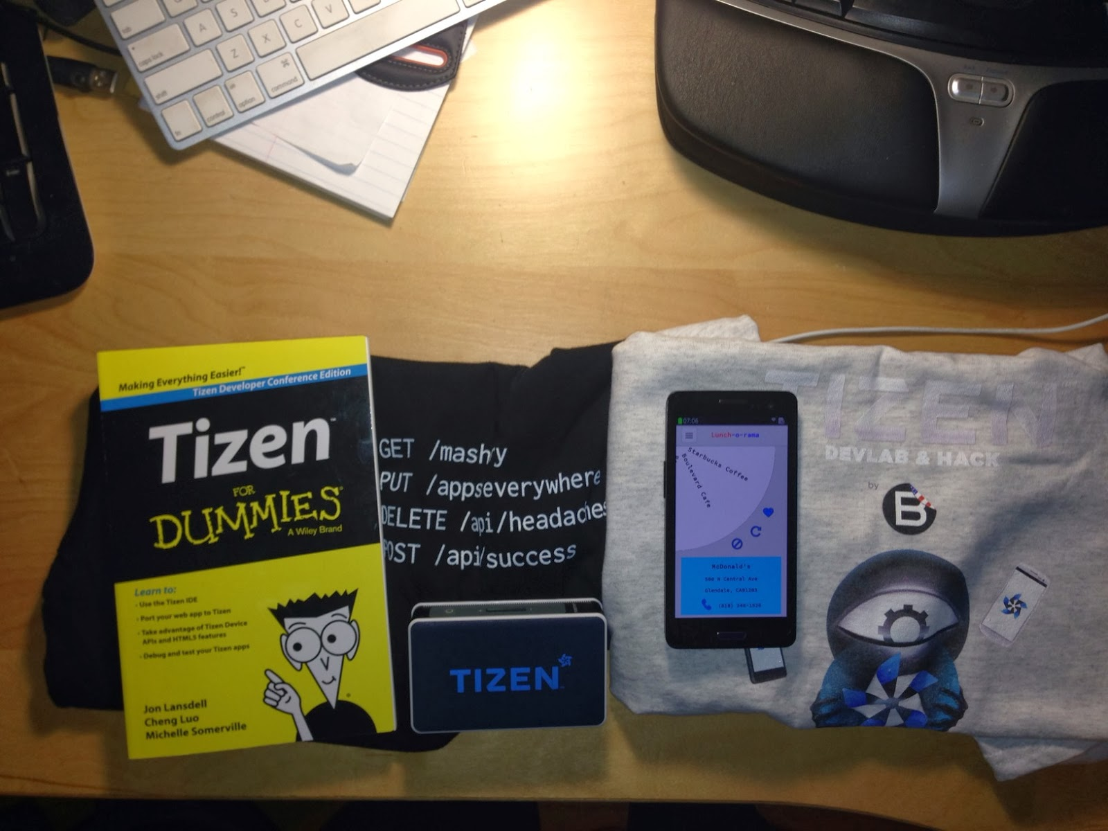 Tizen device : Eth rate
