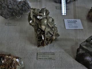 Siderita, Francia,  Museo Historia Natural de Londres