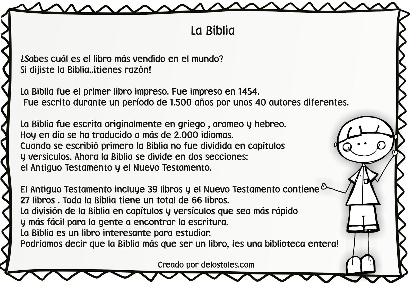 De los tales: La Biblia