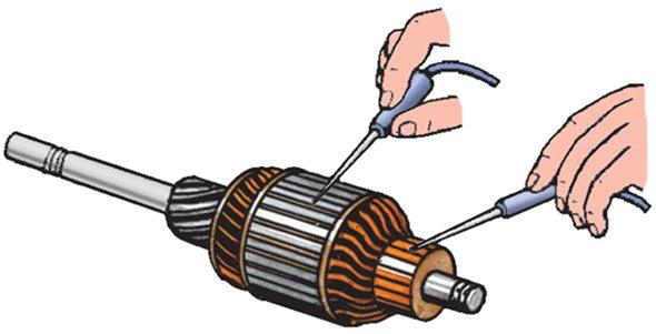 Как проверить электродвигатель тестером на исправность