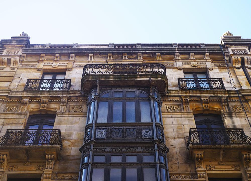 Edificios calle San Bernardo Gijón