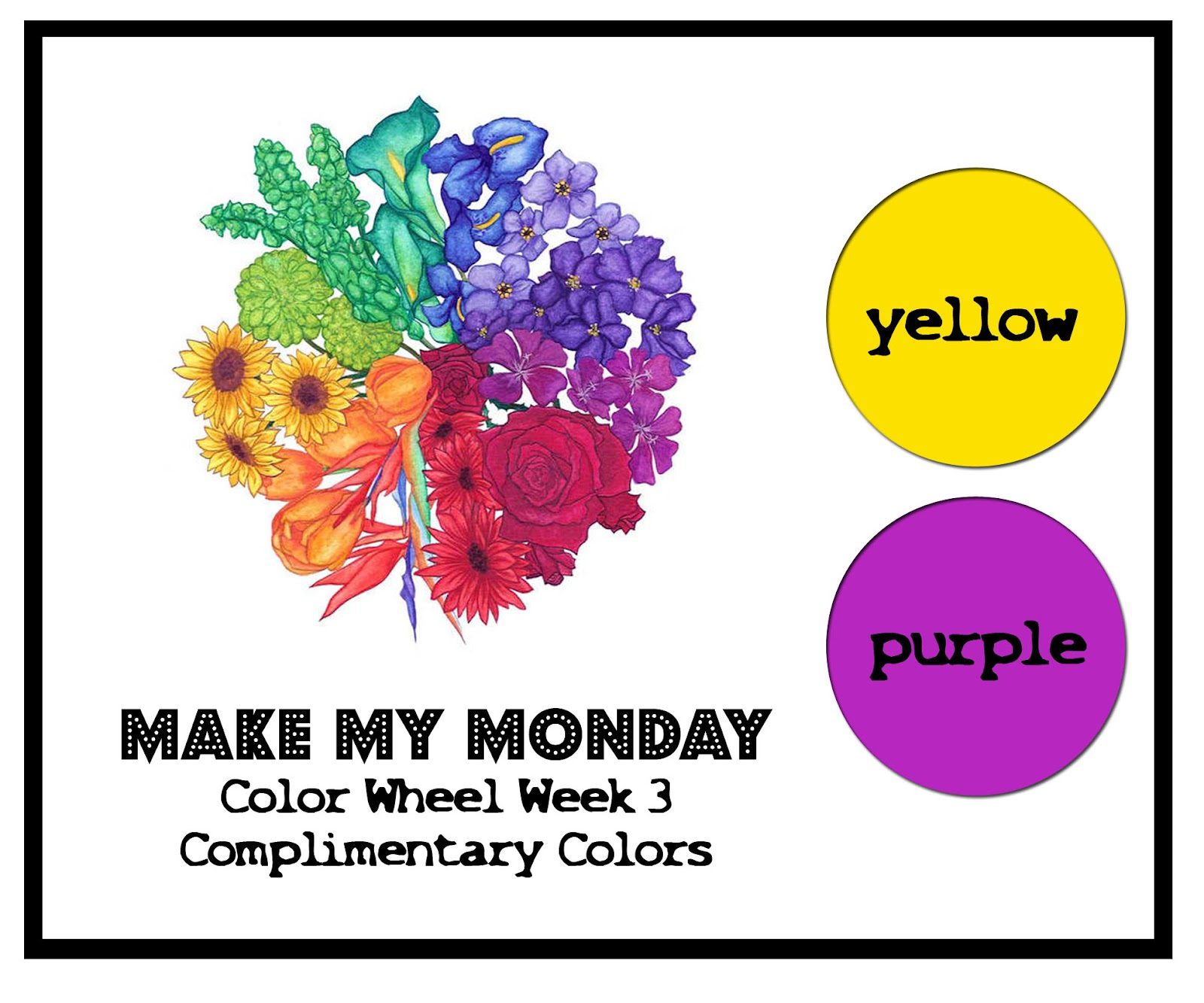 Complimentary Colors Are That Compliment Each Other Hence The Name They Fall Across From On Color Wheel Since Purple And Yellow