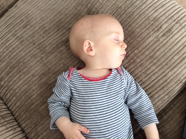 sleeping baby Alexander