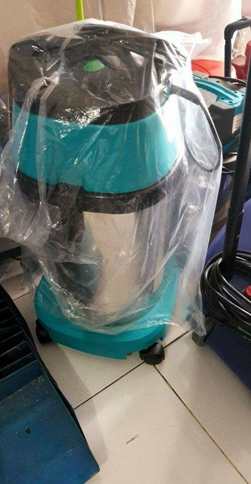 vacuum cleaner wet&dry 15 liter second