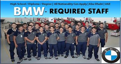 BMW, BMW motors jobs, BMW abu dhabi, abu dhabi visa, abu dhabi jobs, visa, jobs, government jobs, career,