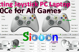Free Download X360Ce and Joystick Settings for All Games Laptop PC