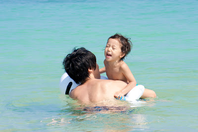 ビーチ撮影,沖縄,家族写真