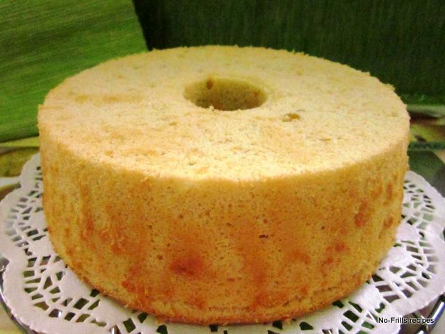 Angel Chiffon Cake Recipe