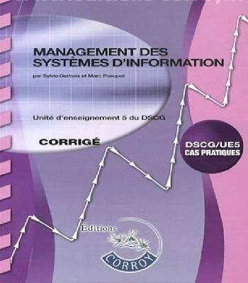 DSCG UE 5 Management des systèmes d'information corrigé PDF