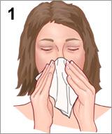 Membersihkan hidung