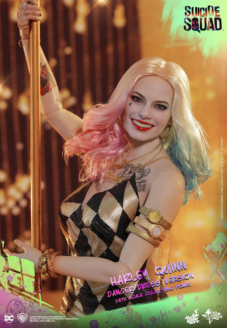 "Harley Quinn ""Dancer Dress Version"" de ""Suicide Squad"" - Hot toys"
