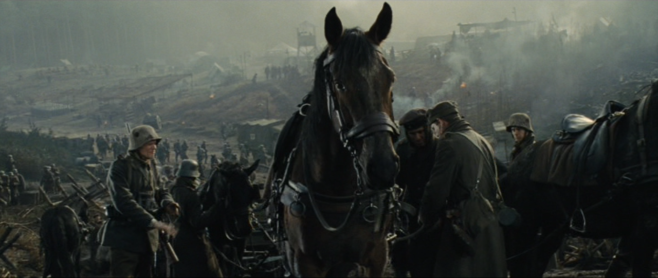 The horse in War Horse