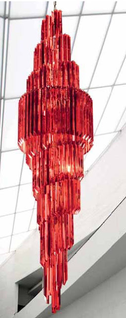 Lampadari-in-vetro-di-murano-e-cristallo-rosso