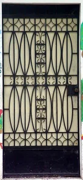 Estructuras El Salvador Puertas Metalicas Decorativas