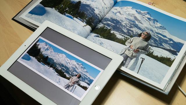 Livre photo sur iPad