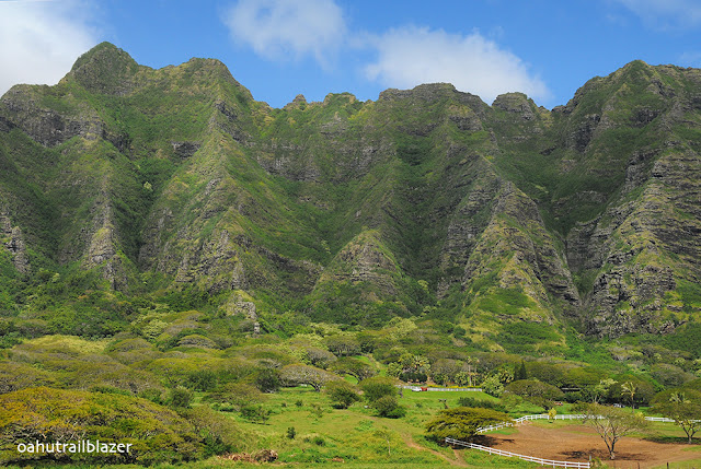 kualau mountains oahu hawaii