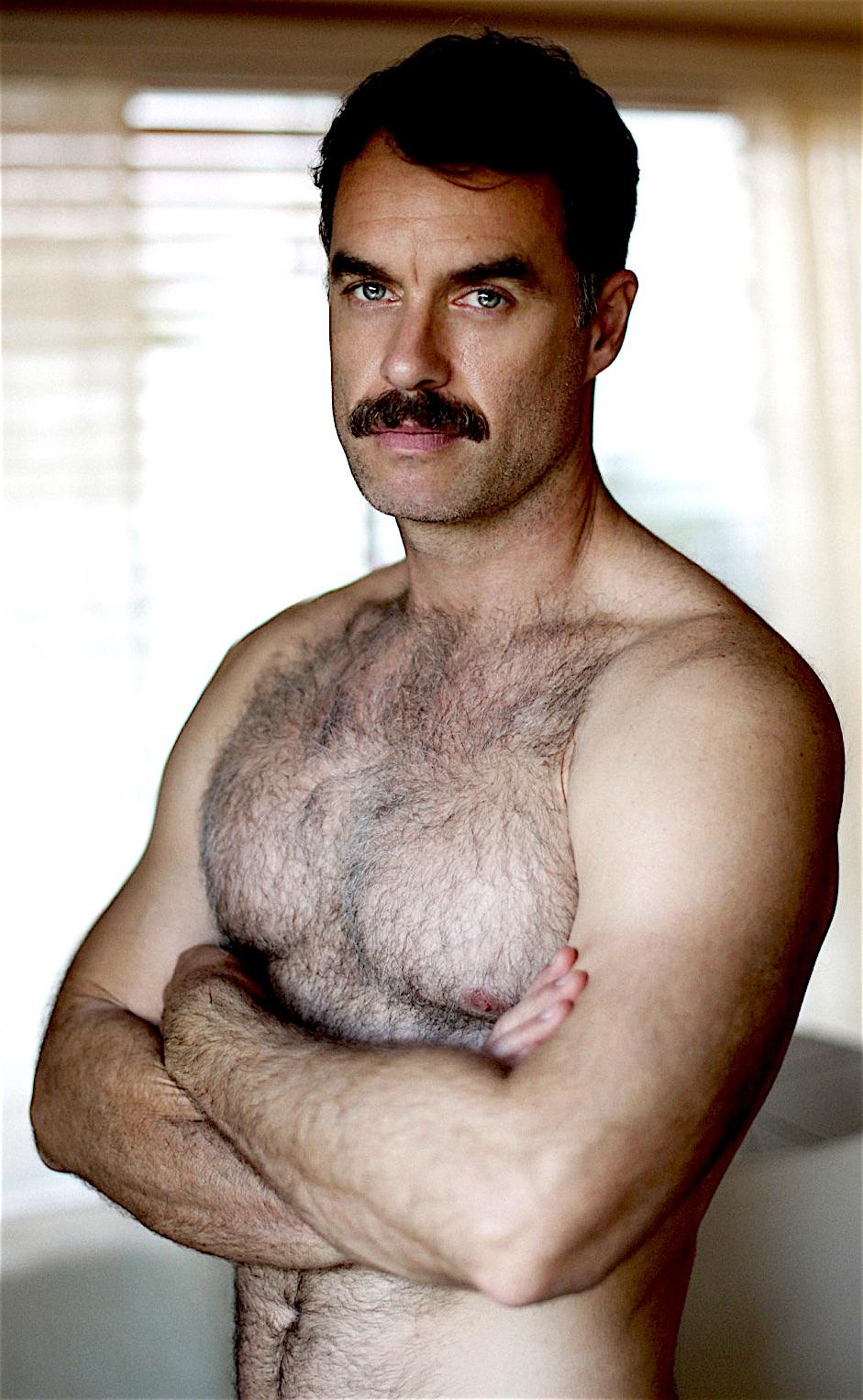 Porn moustache