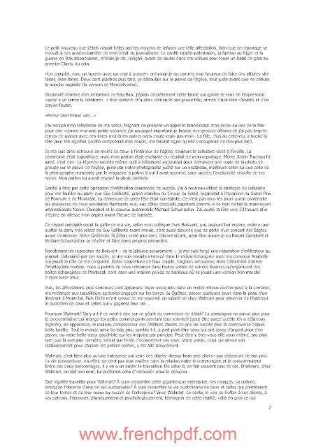 Walmart: Journal d'un associé de Hugo Meunier PDF Gratuit
