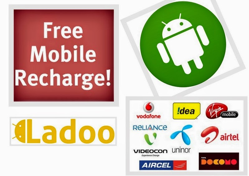 earn free mobile recharge with ladooo android app