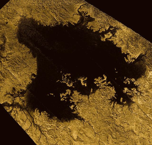 Cassini explores a methane sea on Titan