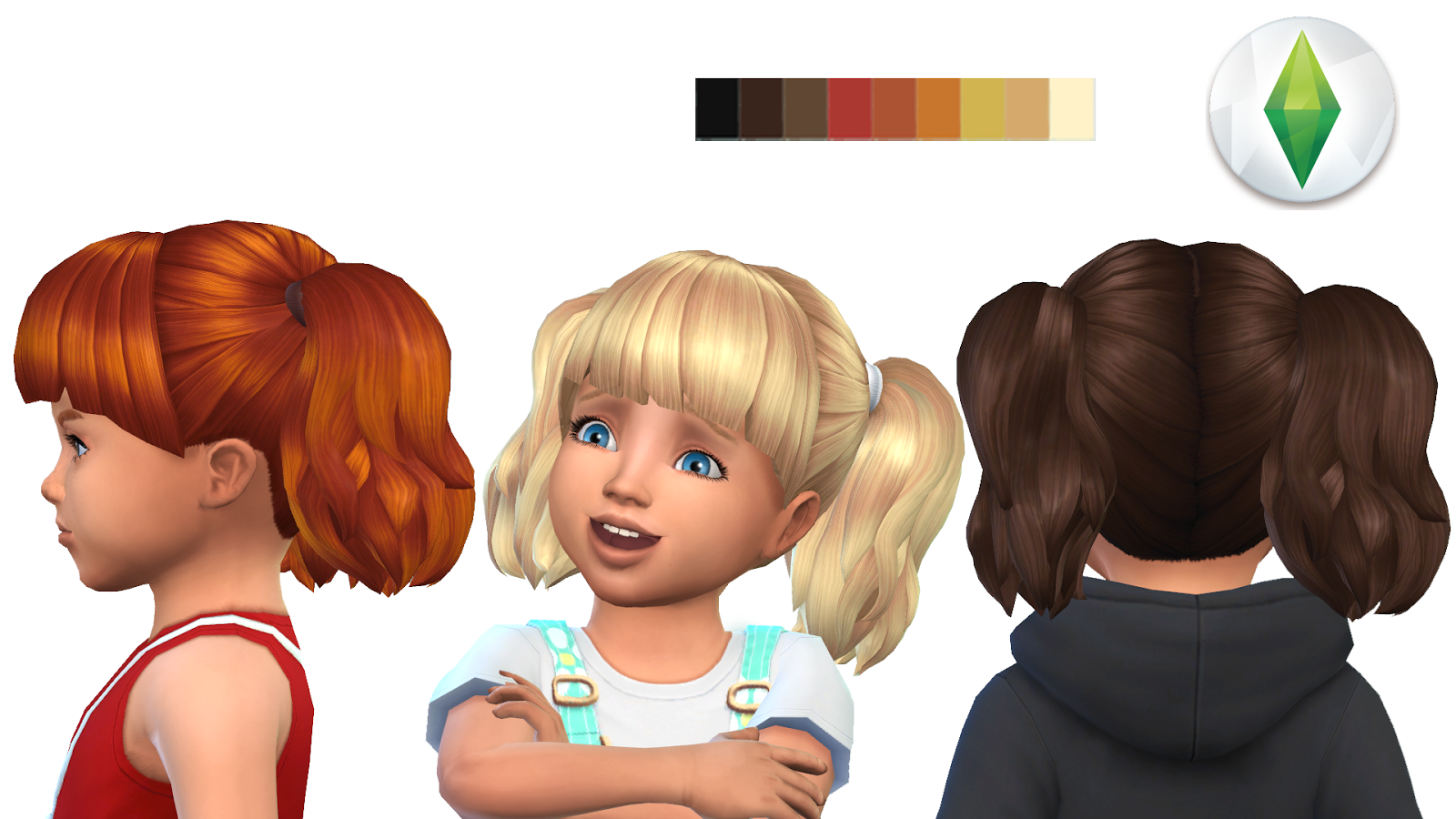 Toddler Hair 4 Version3
