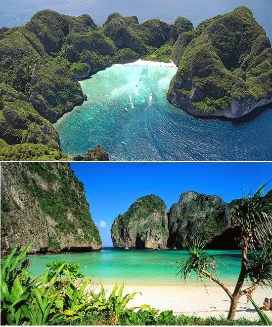 Maya Bay - Ko Phi Phi - Tailândia