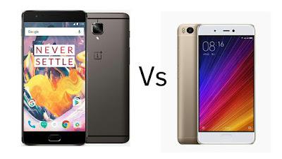 OnePlus 3T vs Xiaomi Mi5s