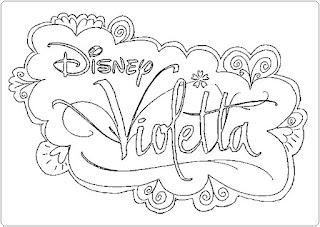 Violetta Ausmalbilder zum Ausdrucken Kostenlos