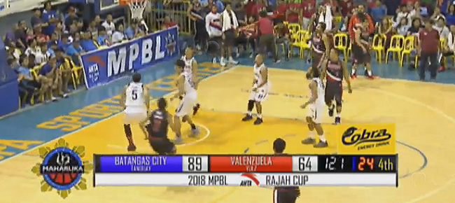 Batangas City Athletics eliminates Valenzuela Classic, 89-64 (REPLAY VIDEO) MPBL Semis Game 2 | April 7