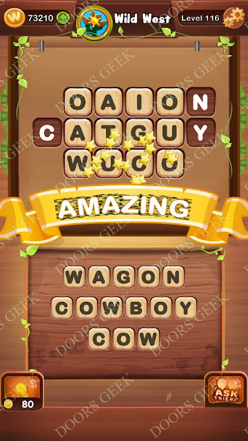 Word Bright Level 116 Answers, Cheats, Solutions, Walkthrough for android, iphone, ipad and ipod