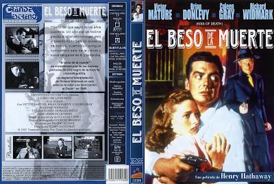 El beso de la muerte (1947)   Kiss of death 1947   Caratula