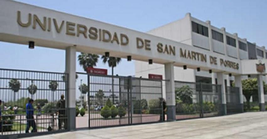USMP: Multan a la Universidad de San Martín de Porres con más de S/. 768 mil por restringir derechos de alumnos