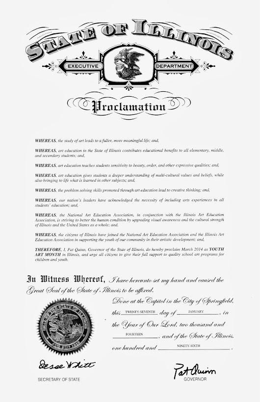 Has Your Mayor or Village President signed a proclamation? Just ask!