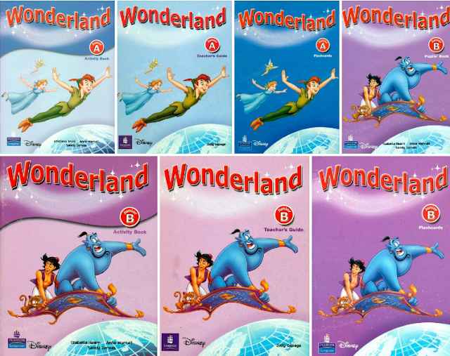 Wonderland Series + Audio