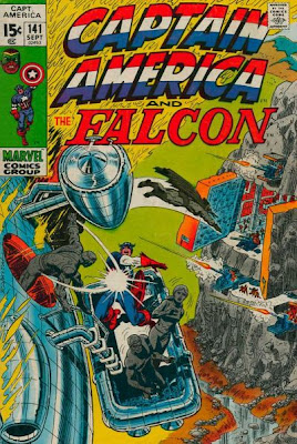 Captain America and the Falcon #141, the Grey Gargoyle
