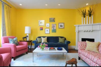 Inspirasi Rumah Nuansa Kuning Ceria 4
