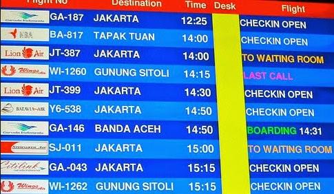 Kode Nama Two Letter Code Pesawat Domestik Dan Internasional