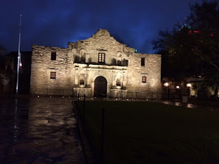 The Alamo as seen during my sunrise run