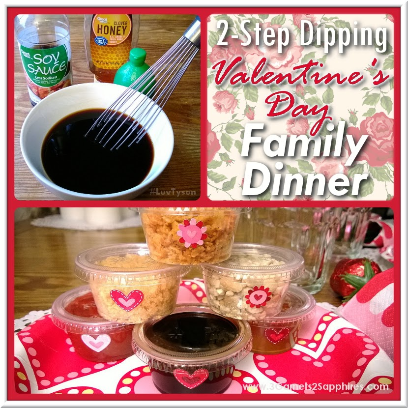 #ad: 2-Step Dipping Dip Recipe for Valentines Day Family Dinner #LuvTyson #cbias