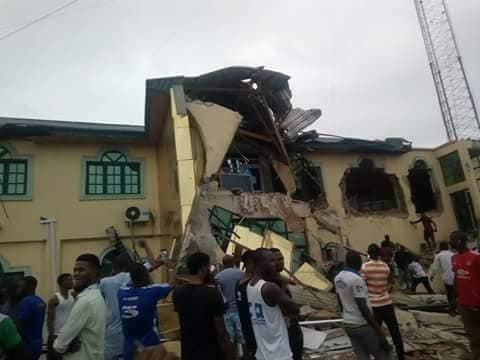 Demolished Fresh FM of Yinka Ayefele