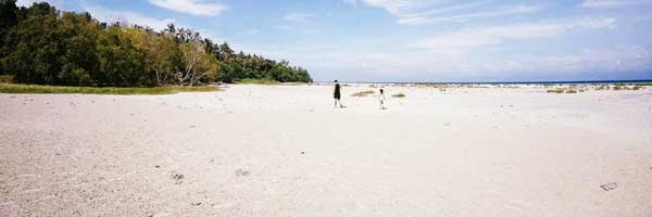 Quiet and Best White Beach Lintuan Loon Bohol Philippines 2018
