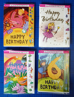 Cardooo Greeting Cards with Puzzles, Colouring, Stickers and Stories!