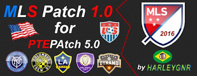 PES 2016 MLS Patch V1.0 for PTEPatch 5.0 by HarleyGnr