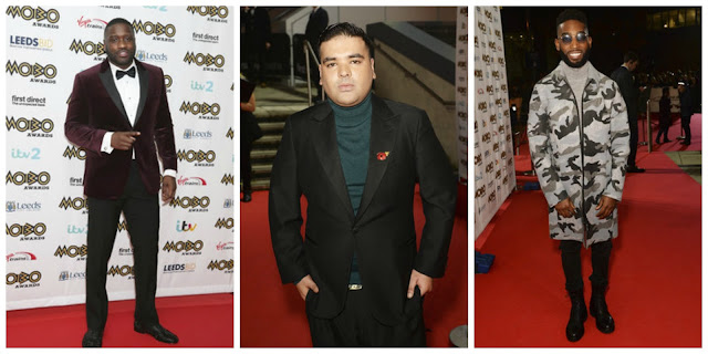 MOBO Awards Best Dressed - Lethal Bizzle/Naughty Boy