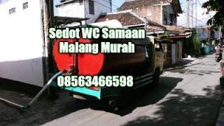 Sedot WC Samaan Malang Murah
